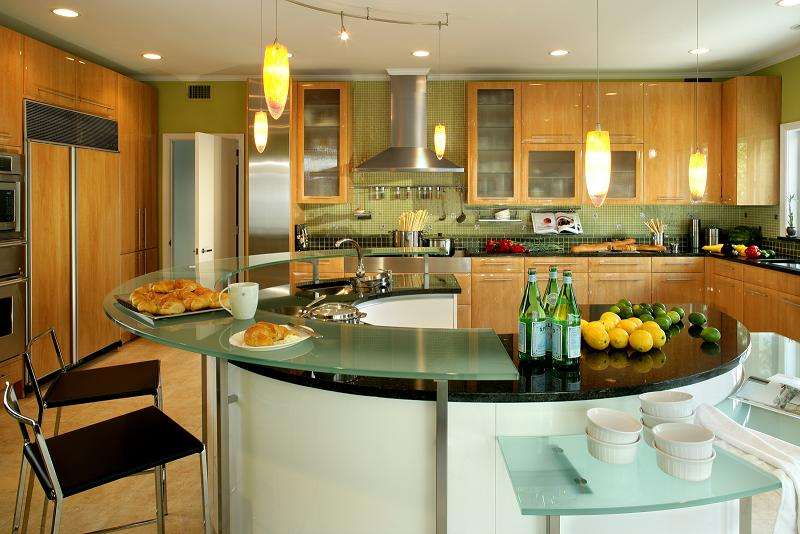 Kitchen Design Ideas 2012 ~ How to design a house around white cabinetry and black