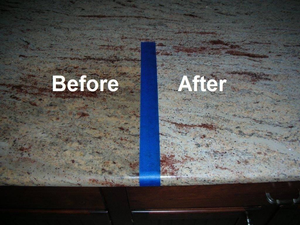 Removal of oxidation from granite worktops | Granite4Less Blog