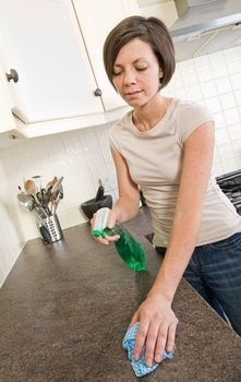 how to clean granite worktops from limescale