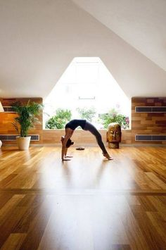 yoga space in home