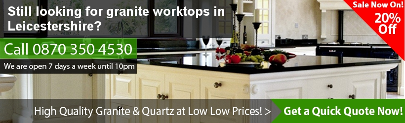 Granite Worktops for Leicestershire