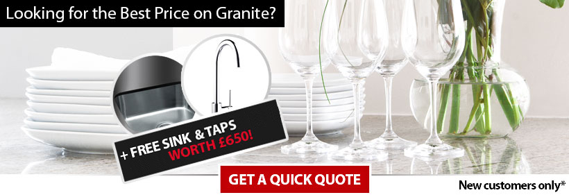 Prices for granite worktops